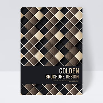20 Succinct Golden Geometric Line Cover Design Template Collection Pngtree
