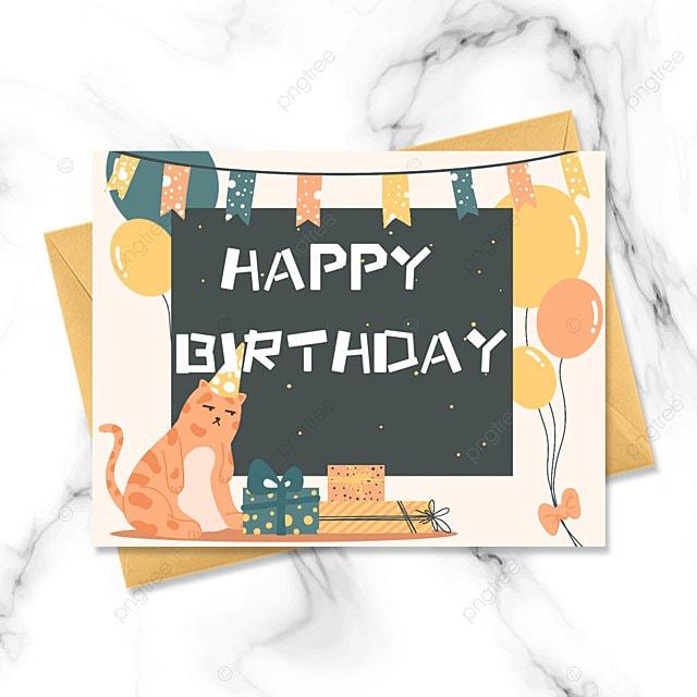 birthday cartoon greeting card