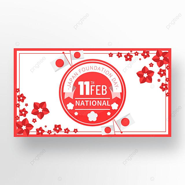 creative frame japan founding festival promotion banner