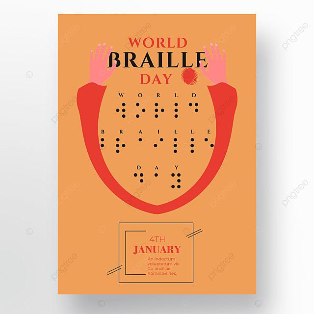 international festival orange poster