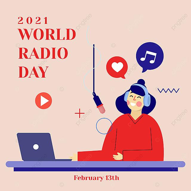online social advertising 2021 world radio day
