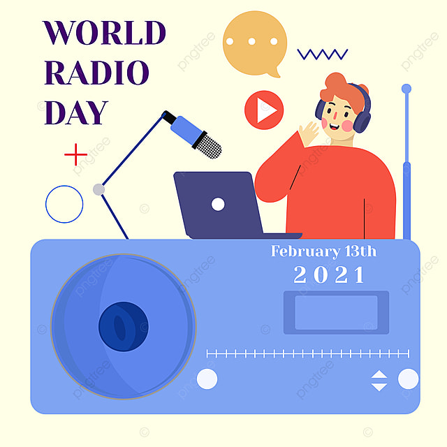 simple world radio day social network