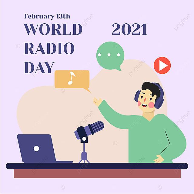 social network advertising 2021 world radio day