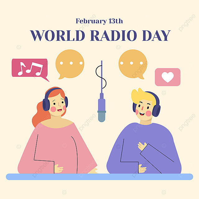 world radio day 2021 social network advertising