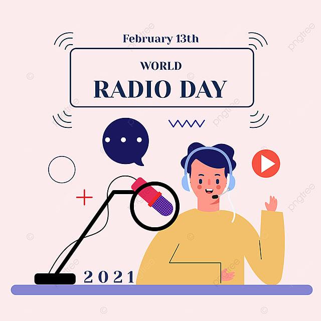 world radio day commentator social network advertisement
