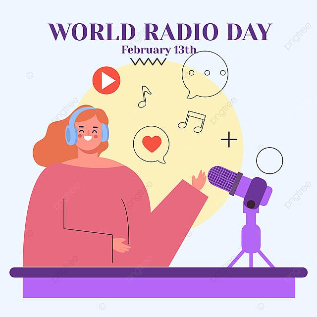 2021 social network advertising on world radio day
