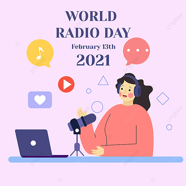2021 social network advertising world broadcasting day