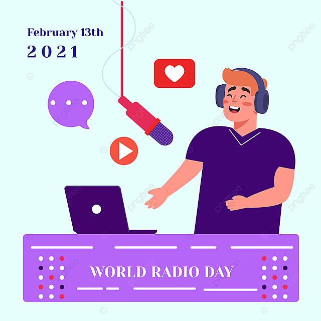 world radio festival's social network advertising