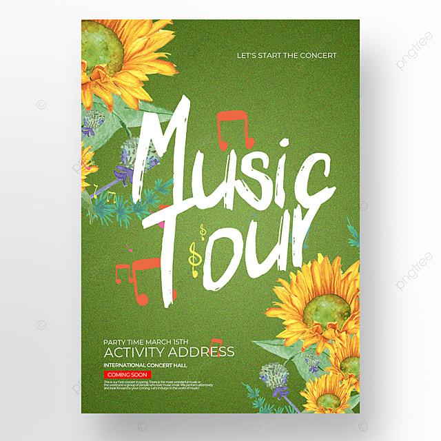 green spring concert poster