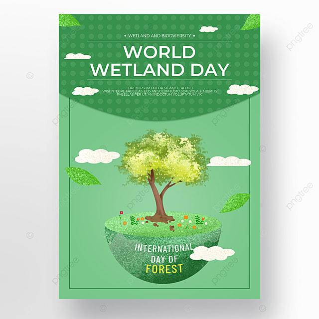 earth green trees world wetland day