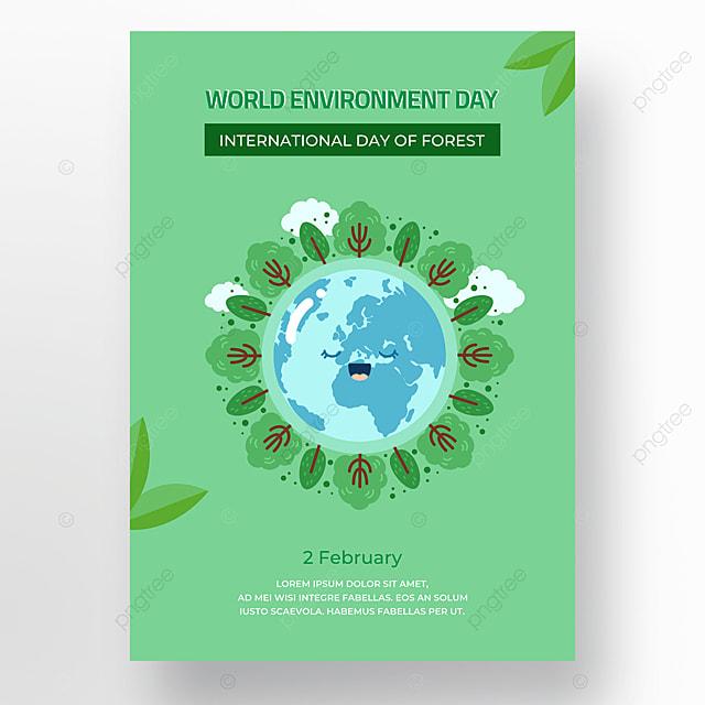 green world wetland day poster