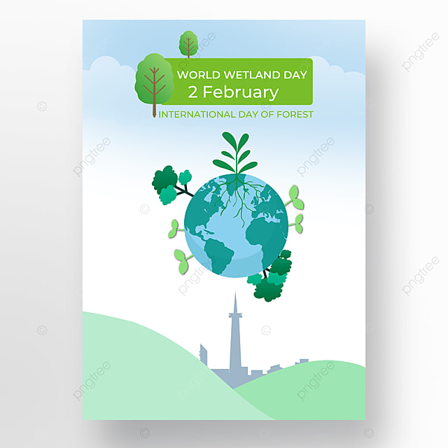 world wetland day poster