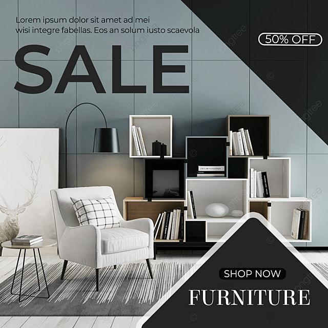 premium grey social media furniture