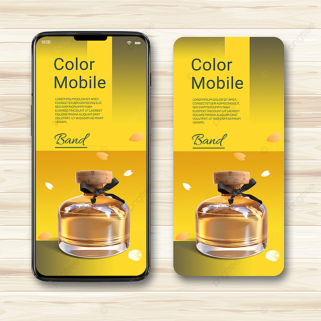 2021 trend gray yellow promotional template