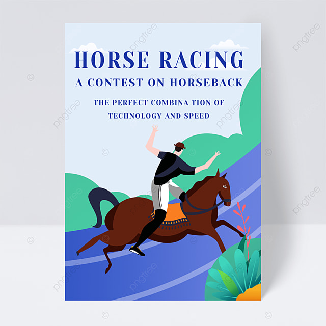 horse riding fitness flyer