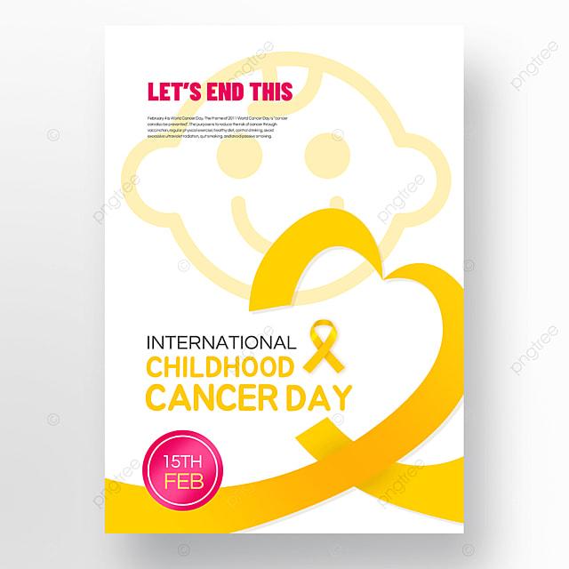 international childhood cancer day poster
