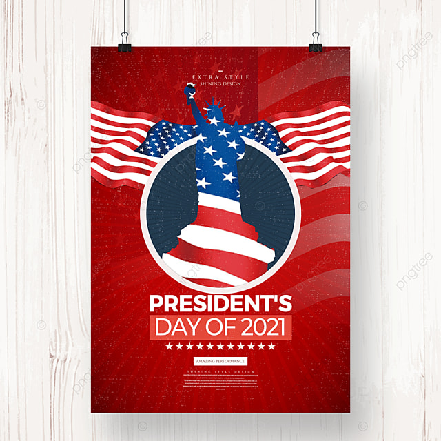 retro stylish american independence day holiday poster
