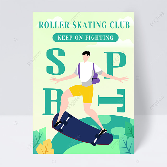 roller skating admissions course leaflet