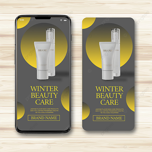 yellow gray gradient texture 2021 trend promotion template