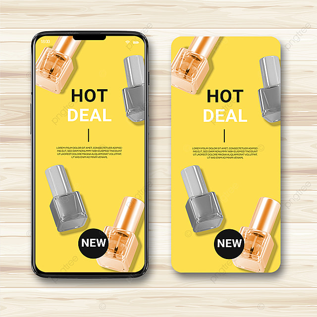 yellow texture 2021 trend promotion template