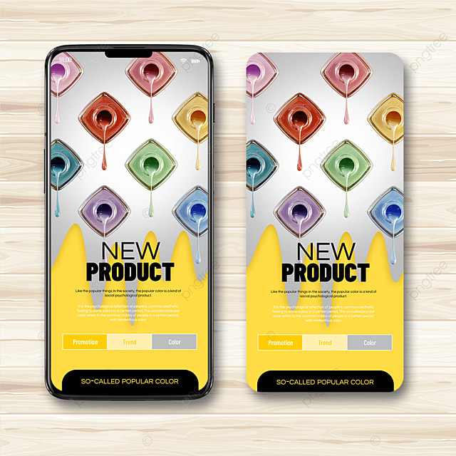 color trend mobile advertising