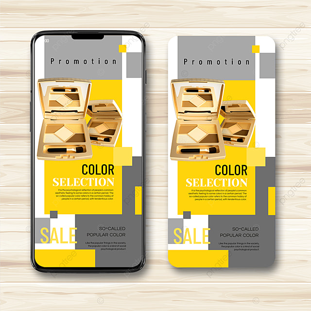trending color mobile advertising