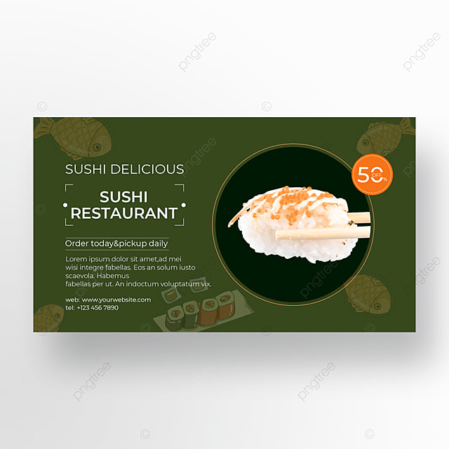 gourmet banner promotion discount
