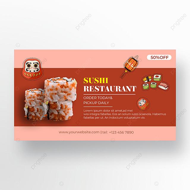 gourmet sushi poster