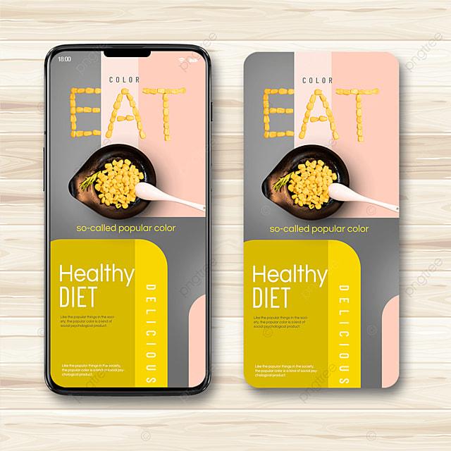health trend color mobile propaganda