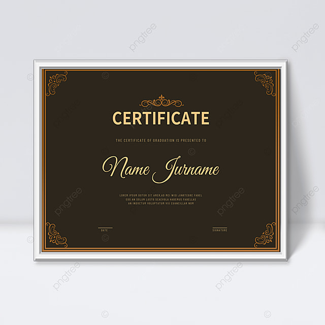 Download Vintage elegant pattern frame certificate template templates from Pngtree.com and you can finish your design projects within minutes even if you have little design experience. All of the Gorgeous Vintage elegant pattern frame certificate template templates in this collection have commercial use license so you can use them without any copyright concerns.