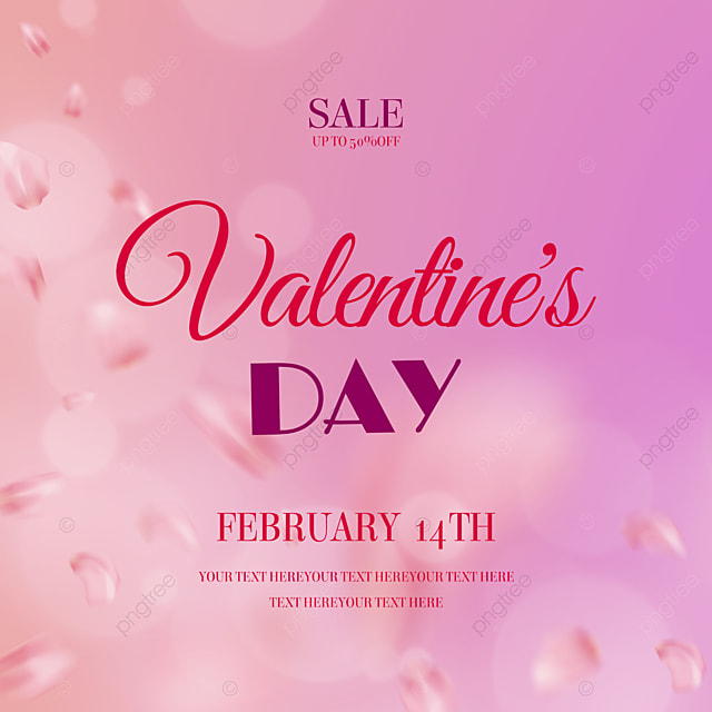 exquisite fashion rose petals valentines day promotion social media