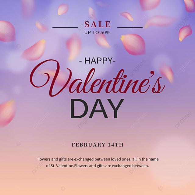 fashion rose petals valentines day promotion social media