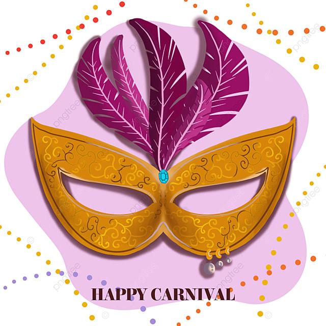 modern minimalist exquisite mask brazilian carnival social media