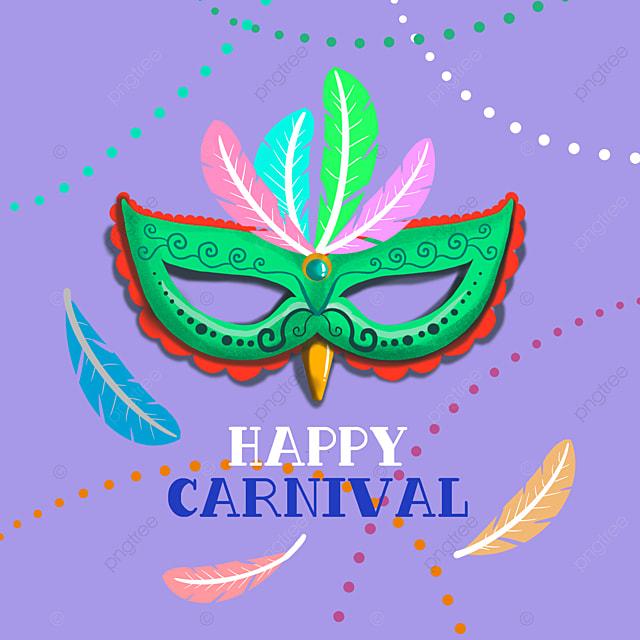 purple exquisite mask brazilian carnival social media