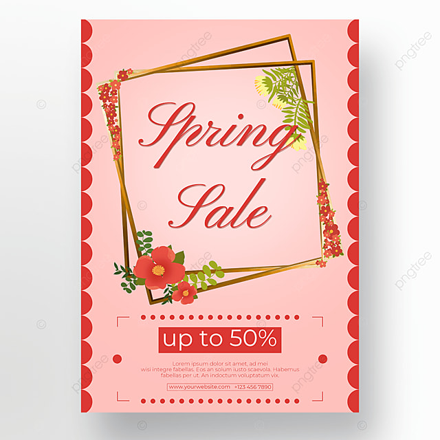 pink background floral poster flowers