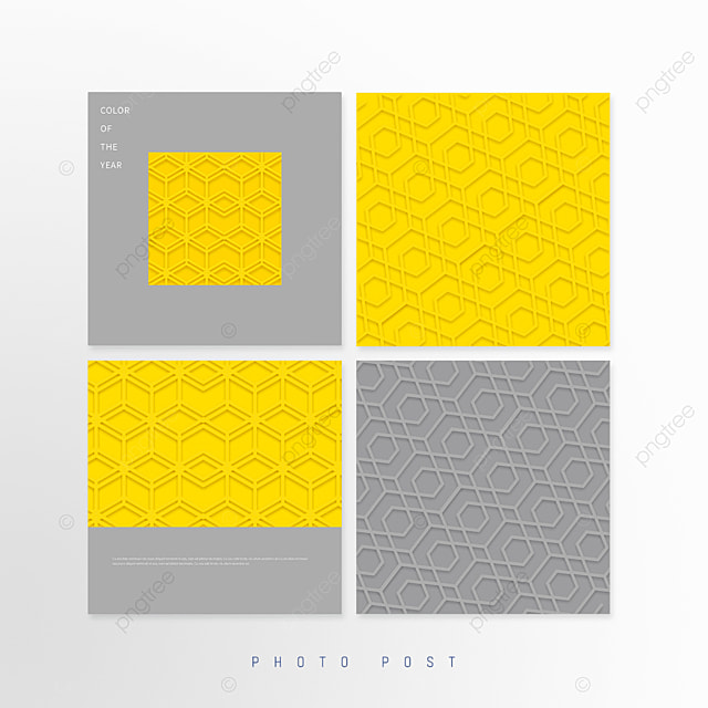 yellow gray trend geometric pattern background pop up window
