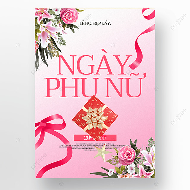 creative exquisite womens day sale poster template