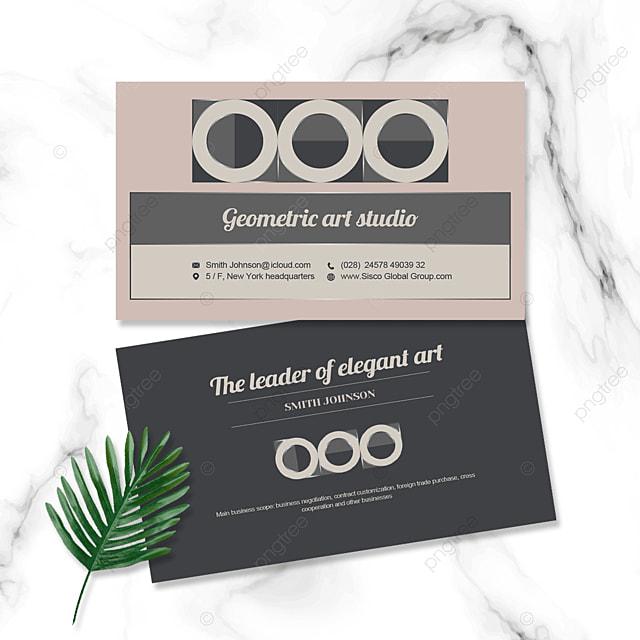 elegant business personal card