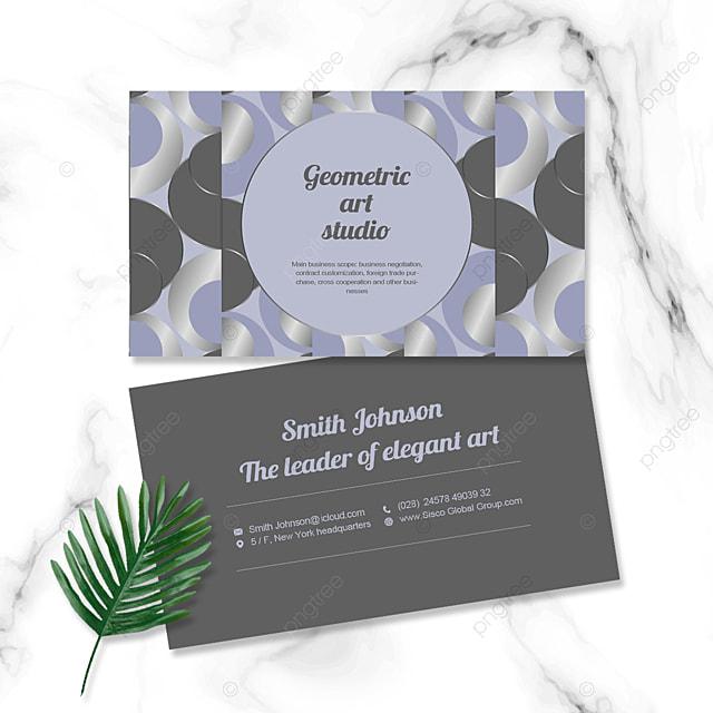 gray tone elegant business personal card