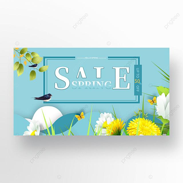 blue spring promotion