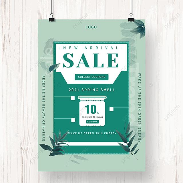 green spring new promotion envelope poster