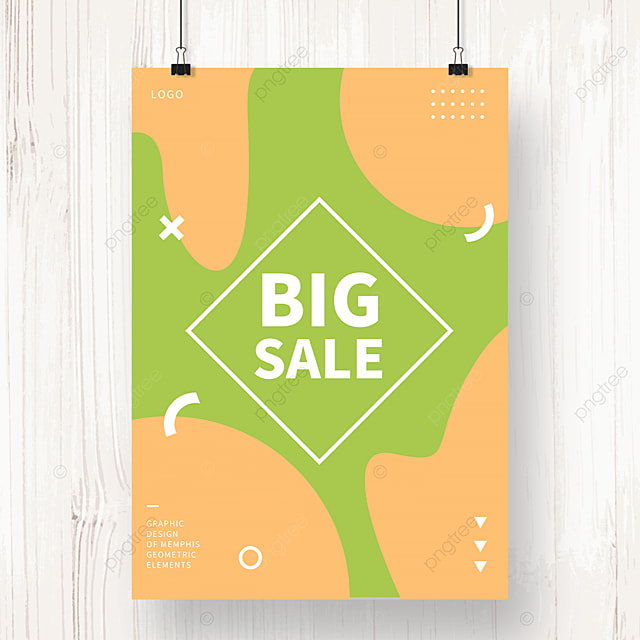 irregular sales poster