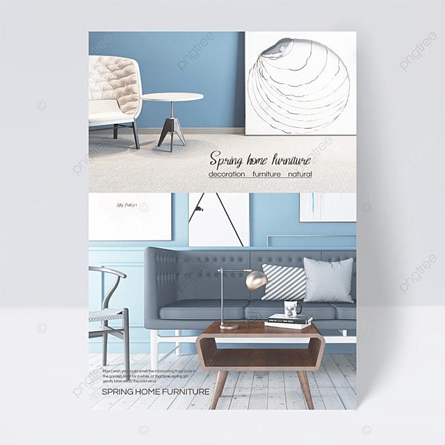 blue spring furniture flyer