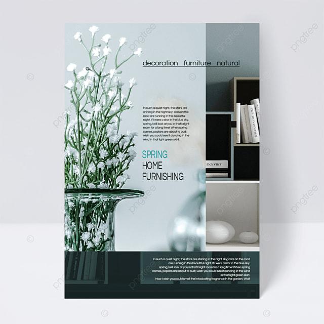 elegant style spring furniture flyer