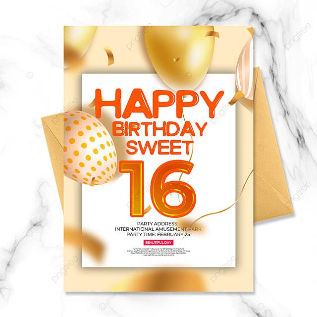 exquisite creative balloon birthday party invitation