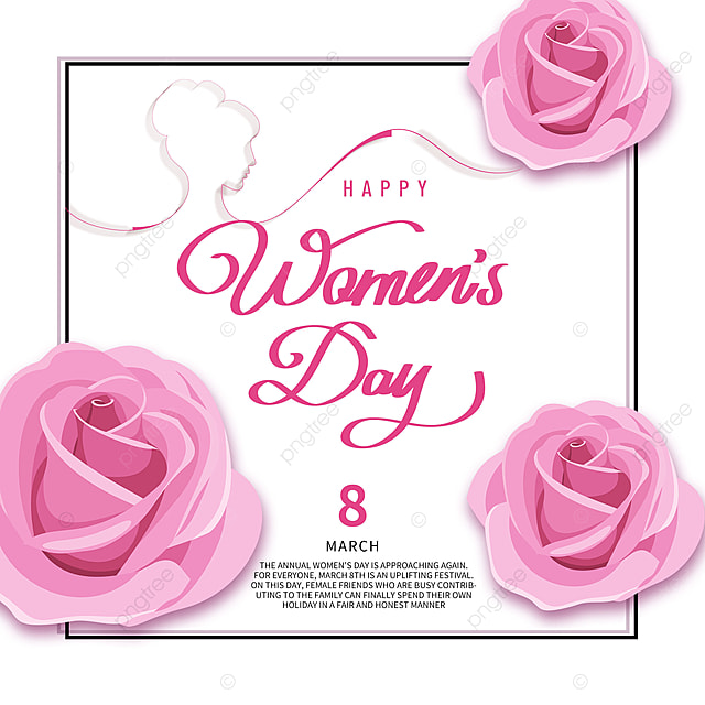 simple style womens day festival template