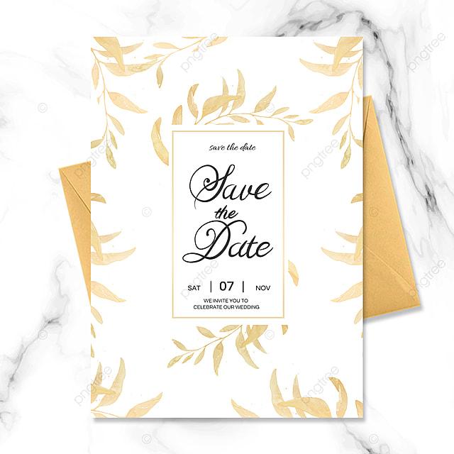 golden texture luxury wedding invitation