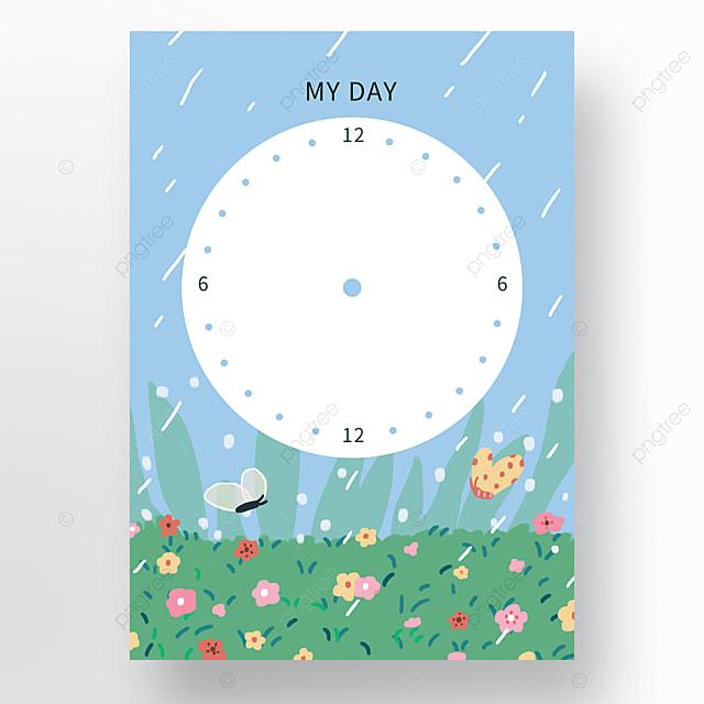 blue garden rainy day plan