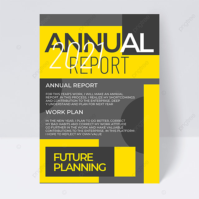 gray background business 2021 trend color annual report