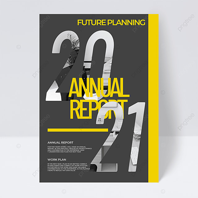 grey background creative 2021 trend color annual report